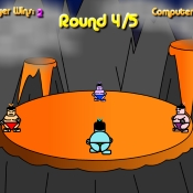 Sumo game up to 4 players
