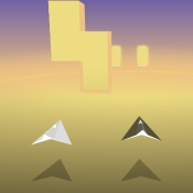 Paper planes arcade game